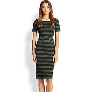 NWT BURBERRY Elka Striped Dress * Sz UK 8 / US 6 *